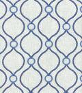 P/K Lifestyles Lightweight Decor Fabric-Curveball Embporcelain