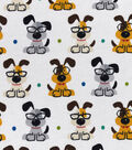 Snuggle Flannel Fabric 42\u0022-Smart Pups