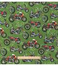 Snuggle Flannel Fabric 42\u0022-Urban Motorbike