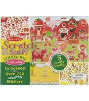 Melissa & Doug Scratch & Sniff Sticker Pad-Fruitville, , hi-res