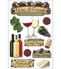 Paper House 3-D Sticker-Wine
