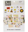 Carpe Diem Emoji Love A5 Stickers