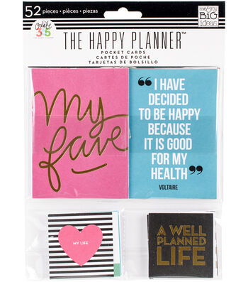 Create 365 Happy Planner Pocket Cards