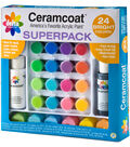 Ceramcoat Acrylic Paint Superpack Bright Colors