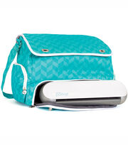Silhouette America Inc Portrait Tote Teal, , hi-res