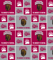 "University of Montana Grizzlies Cotton Fabric 43""-Block, , hi-res"