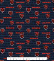 "Chicago Bears Cotton Fabric 58""-Mini Print, , hi-res"