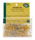 Dritz Quilting Quilter\u0027s Pins -Size 28 500/Pkg
