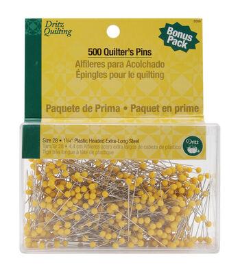 Dritz Quilting Quilter's Pins -Size 28 500/Pkg