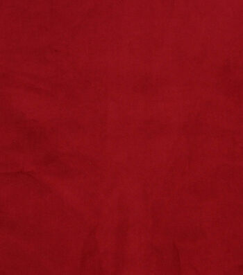 "Hudson 43 Upholstery Velvet Fabric 56""-Red"
