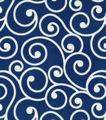"Better Homes & Garden Outdoor Fabric 54""-Navy"