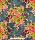 Covington Multi-Purpose Decor Fabric 55\u0027\u0027-Charcoal Zoe