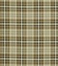 Robert Allen Luxe Glen Upholstery Fabric 54\u0022-Onyx Flax
