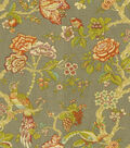 Waverly Lightweight Decor Fabric-Casablanca Rose/Cardamom