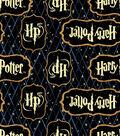 Harry Potter Flannel Fabric 42\u0022-Diamond Logo