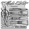Stampendous Cling Rubber Stamp Artist Elements