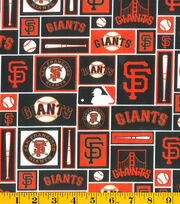 "San Francisco Giants Cotton Fabric 58""-Patch, , hi-res"