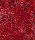 Buttercream™ Poppy Collection Cotton Fabric-Tonal Medallion Red