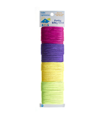 Clubhouse Crafts Funky Silky Cord