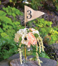 Linen Pennant Table Numbers 1-10