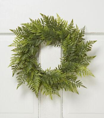 "Bloom Room 18"" Fern Wreath"