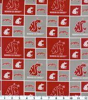 "Washington State University Cougars Cotton Fabric 43""-Block, , hi-res"