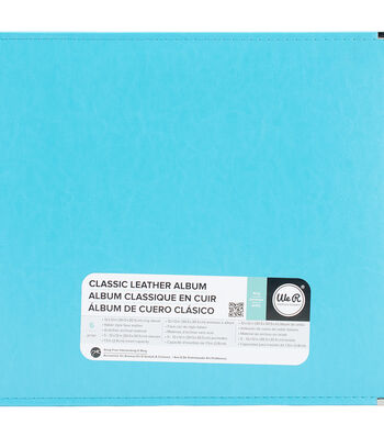 We R Memory Keepers 12''x12'' Classic Leather 3-Ring Album