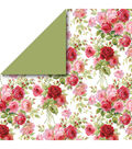 Cricut® Anna Griffin 12 Pack 12\u0027\u0027x12\u0027\u0027 Deluxe Papers-Rose Medley