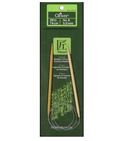 "Clover Bamboo Circular Knitting Needles 29""-Size 8, , hi-res"