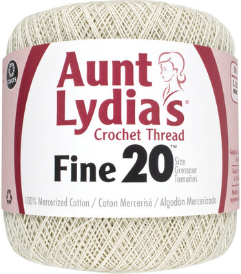 Aunt Lydia's Fine Crochet Thread