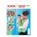 Kwik Sew Pattern K3993 Apron & Bathtime Toy Holder