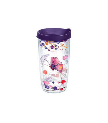 Tervis 16oz. Tumbler-Watercolor Branch Butterfly