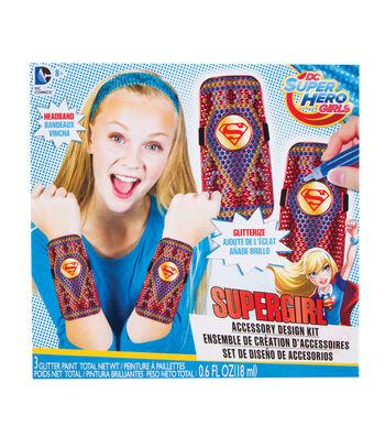 DC Comics Super Hero Girls Accessory Design Kit-Supergirl