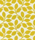 Home Decor 8\u0022x8\u0022 Swatch Fabric-IMAN Home Foliage Filigree Gilded