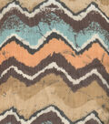 Southwest Fabric - Multi Zigzag Chiffon Screen