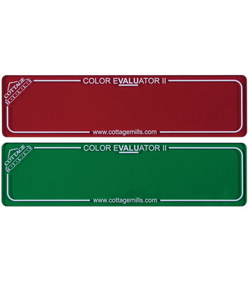 Color Evaluator II-Red/Green