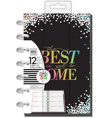 The Happy Planner 12 Month Mini Planner-Best is Yet
