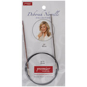 Deborah Norville Fixed Circular Needles 32'' Size 1.5/2.5mm, , hi-res