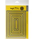 Waffle Flower Die-Lacy Layers 5\u0022X7\u0022