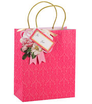 Anna Griffin Pink Tonal Treat Bag 4 Count, , hi-res