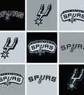 San Antonio Spurs Fleece Fabric 58\u0027\u0027-Block