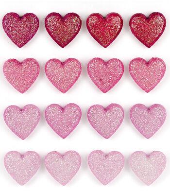 Jolee???s Boutique Repeat Stickers-Glitter Heart