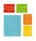 Sizzix Impressions Embossing Folders-Thank You