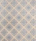 Home Decor 8\u0022x8\u0022 Fabric Swatch-Jaclyn Smith Irvington Cobalt