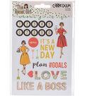 The Reset Girl Stickers 4\u0022X6\u0022-Icons