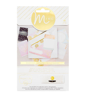 "Minc Project Life Themed Cards 40/Pkg-Charming (16) 4""X6"" & (24) 3""X5"""