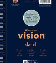 """Strathmore® 5.5""""x8.5"""" Vision Sketch Pad, , hi-res"""