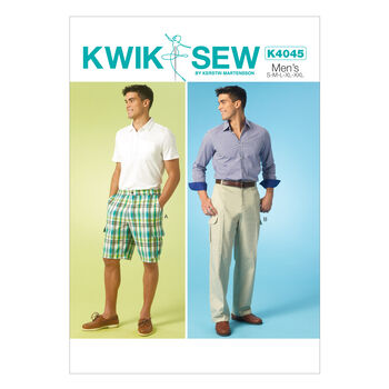 Kwik Sew Mens Pants-K4045
