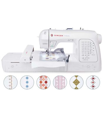 Singer® XL-420 Futura Embroidery And Sewing  Machine