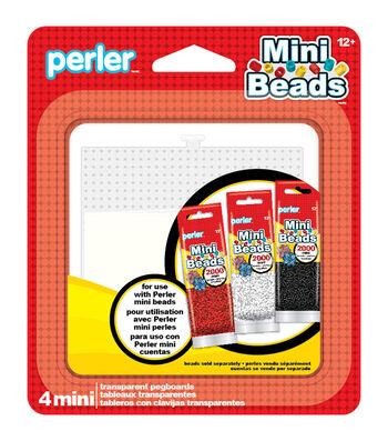 Perler Mini Bead 4pk Pegboards